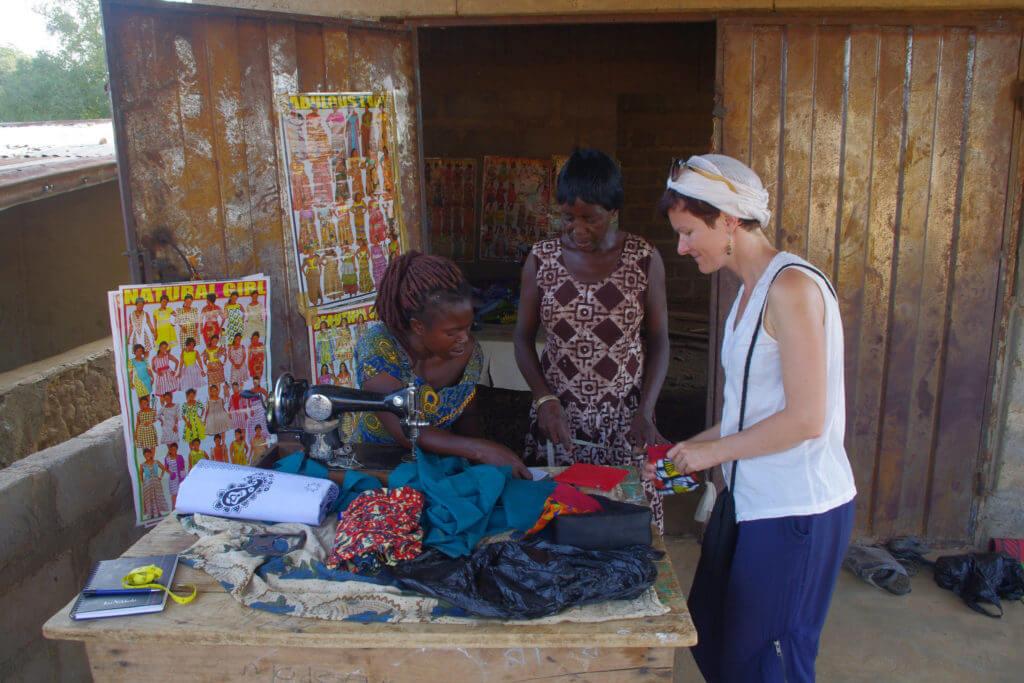 Vabatahtlik ekspert Triin Ghanas