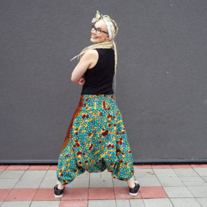 Haarempüksid Ghanast Harem pants from Ghana Mondo