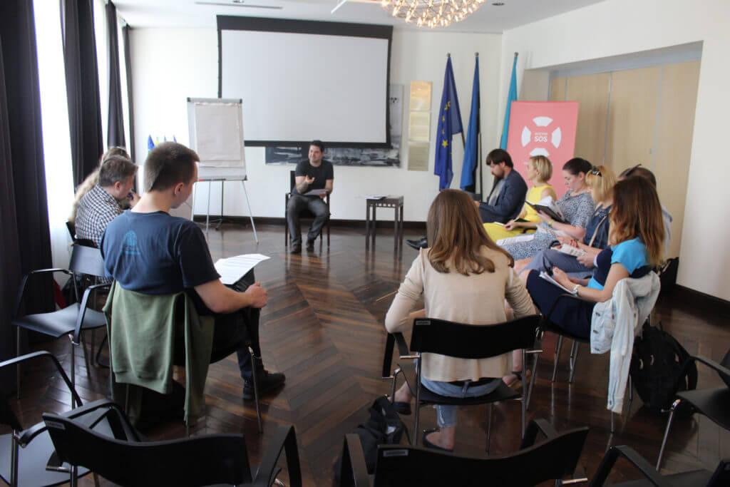 """Seminar """"Ühiskondlik mõju ja vabaühendused"""" Ukraina Mondo"""