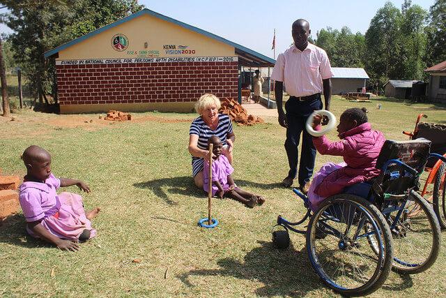 Keenia vabatahtlikud Mondo