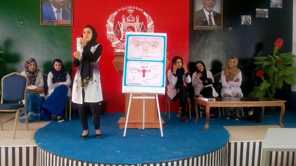 Mondo Afganistan Pereplaneerimise loeng Youldoz koolis